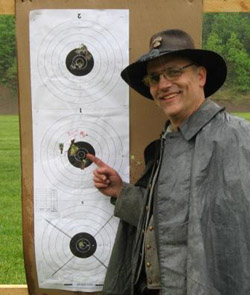 Dan Gibson's 25yd smoothbore target