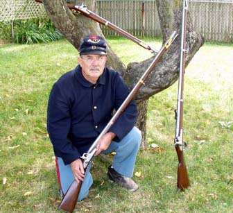 Rich Cross with .69 Calibre Arms.